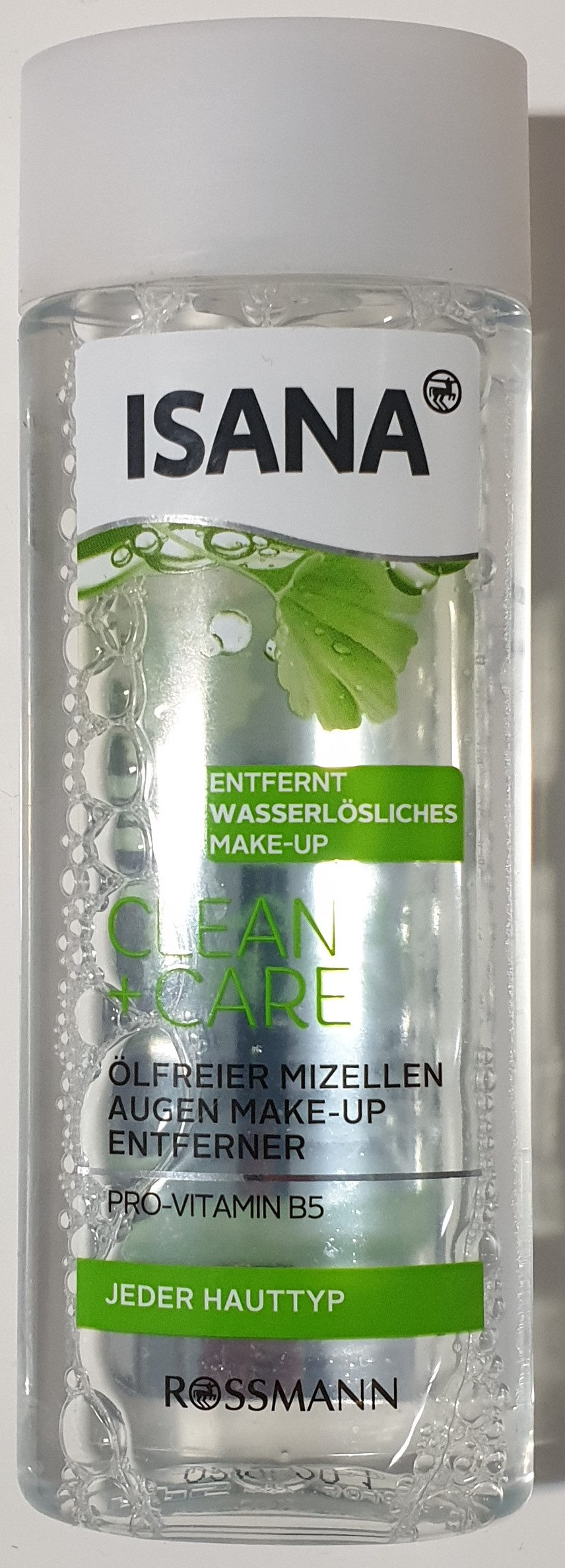 Clean Care ölfreier Mizellen Augen Make-up Entferner - Product