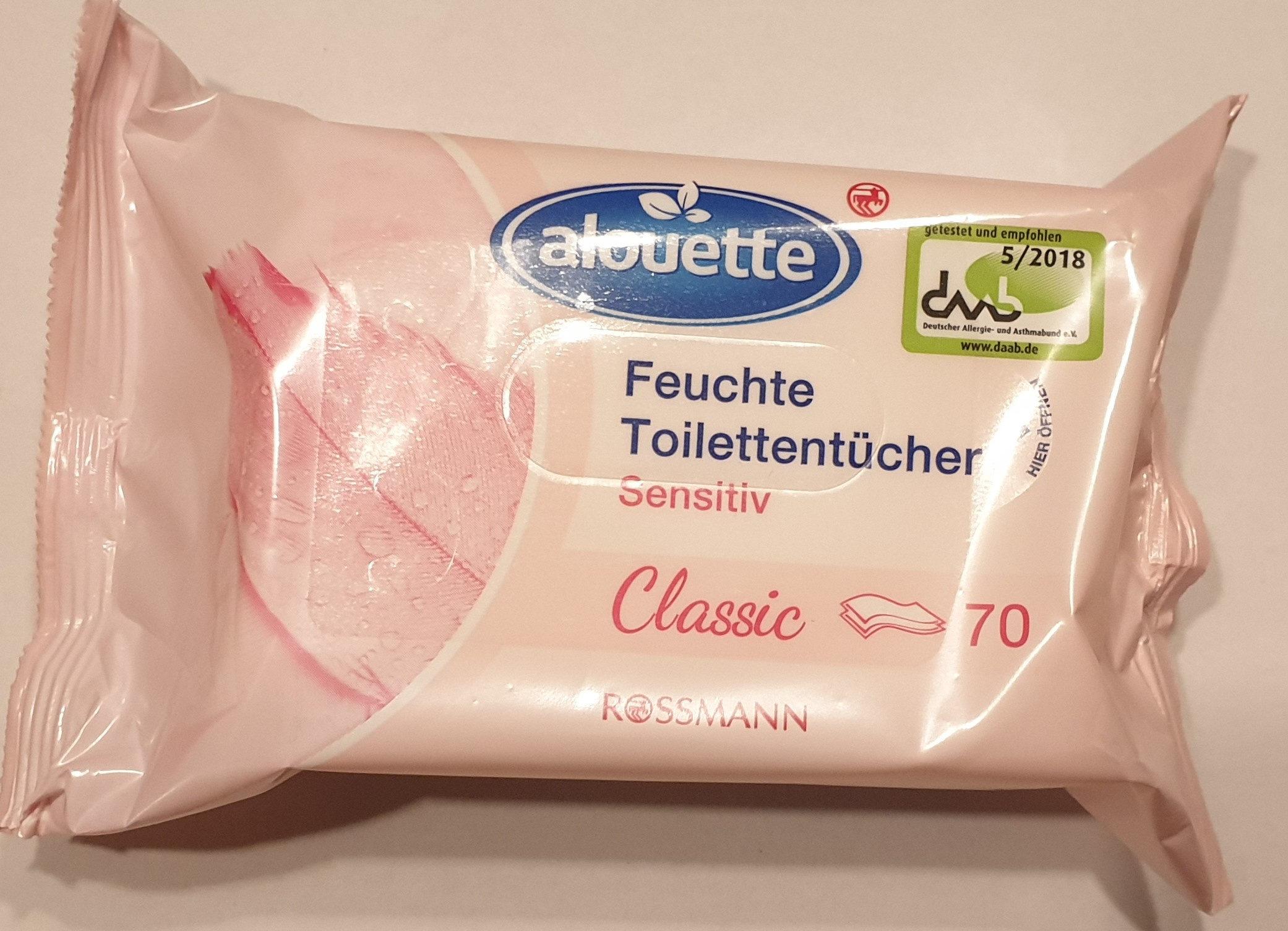 Feuchte Toilettentücher Sensitiv Classic - Product - de