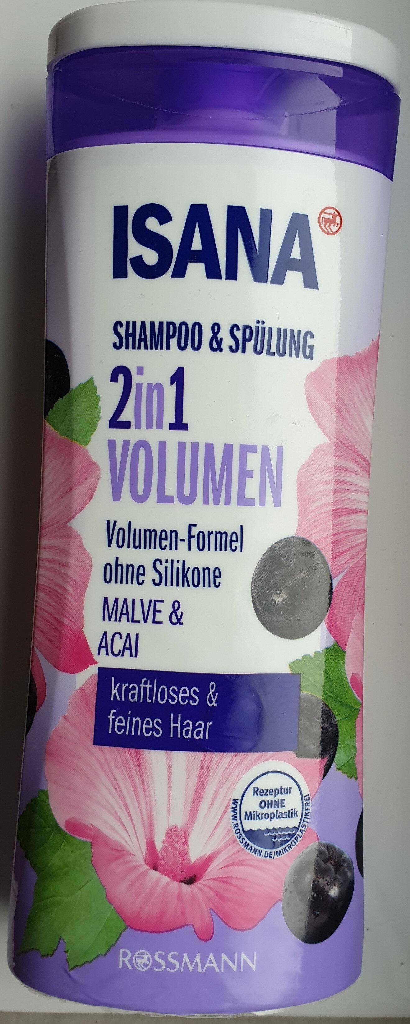 2in1 Volumen Shampoo & Spülung Malve & Acai - Produit - de