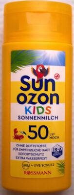 Kids Sonnenmilch LSF 50 hoch - Product - en