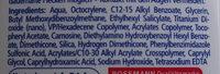 Sonnengel Med LSF 50 - Ingredients