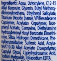 Med. Sonnengel LSF 50 hoch - Ingredients - en