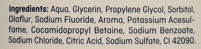 Mundspülung extra frisch - Ingredients - de