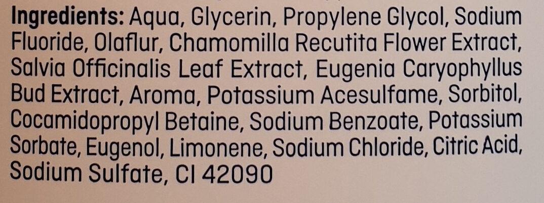 Mundspülung - Ingredients