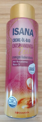 CREME-ÖL-BAD ENTSPANNUNGS-Zeit cremiges Badeerlebnis mit Macadamia-Nuss-Öl - Produit - de