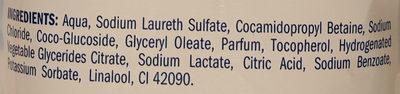 milde Seife Meeresluft - Ingredients