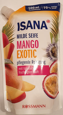 milde Seife Mango exotic - Product
