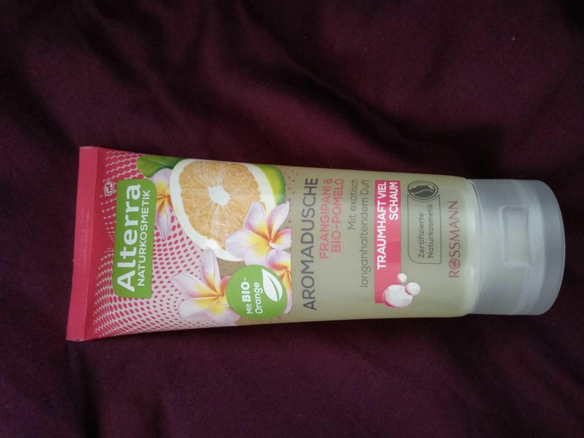 Aromadusche frangipani & bio-pomelo - Product - en