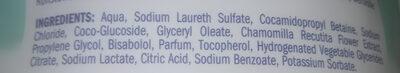 Osama Milde Seife Sensitiv - Ingredients