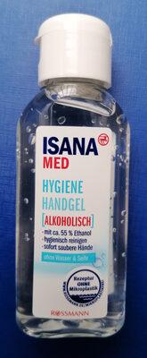 ISANA  MED  Hygiene Handgel (Alkoholisch} - Product - de