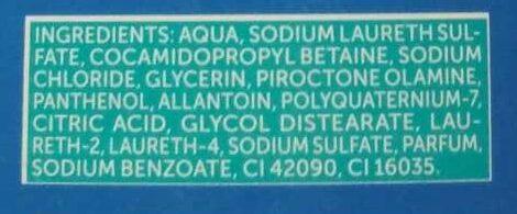 Anti-Schuppen Shampoo - Ingredients - de
