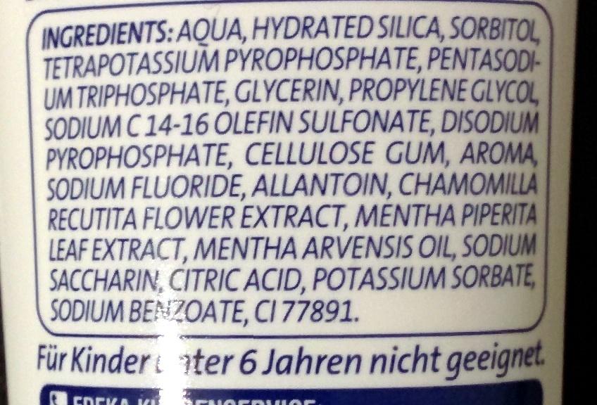 Zahnweiss 5 - Ingredients - de