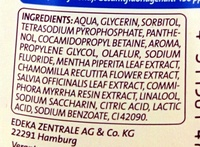 Ice Fresh - Ingredients