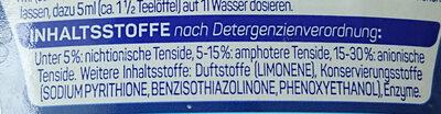 Ultra Spülmittel Konzentrat - Ingredients - de