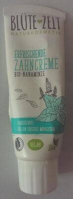 Blütezeit erfrischende Zahncreme mit Bio-Nanaminze - Product