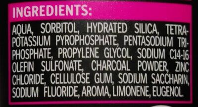 Zahngel Aktivkohle - Ingredients - de
