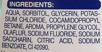 Diadent 6 sensitiv - Ingredients