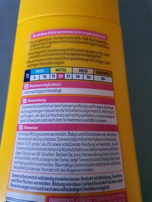hello sun Sonnenmilch LSF20 - Product - en