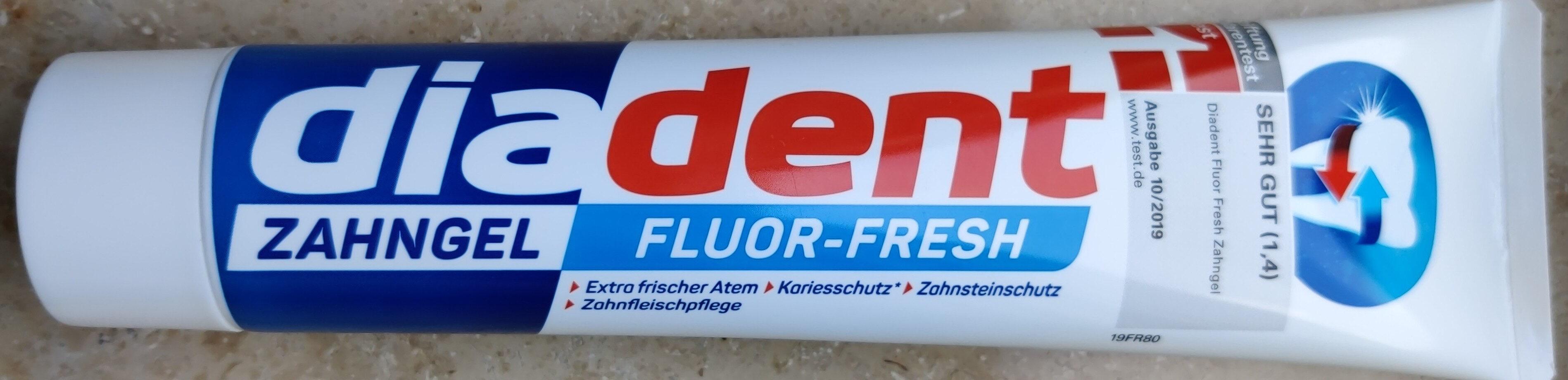 Zahngel Fluor-Fresh - Produit - de