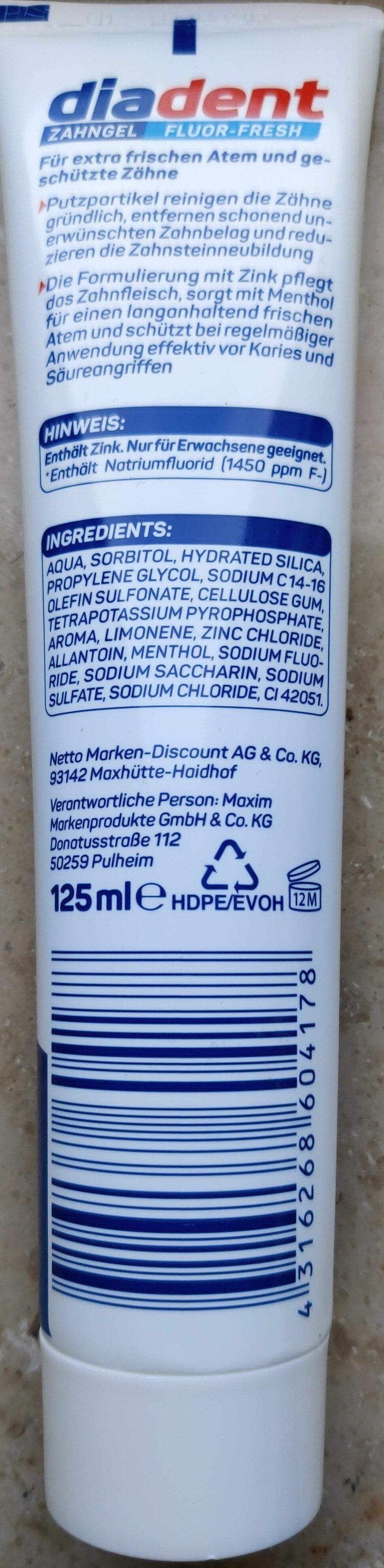 Zahngel Fluor-Fresh - Product - en