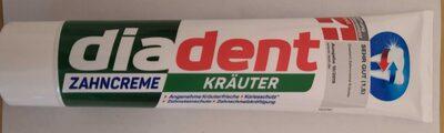diadent Zahncreme Kräuter - Product - de