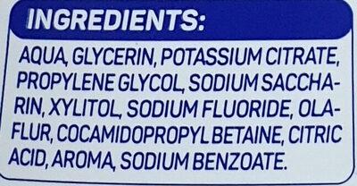 Mundspülung sensitive - Ingredients