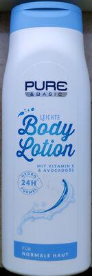 Leichte Body Lotion - Produit - de
