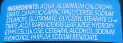 X-Dry Anti Transpirant - Ingredients - de