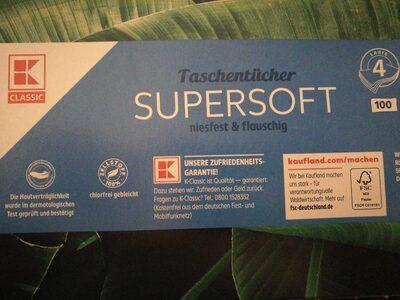 Supersoft Taschentücher - Product