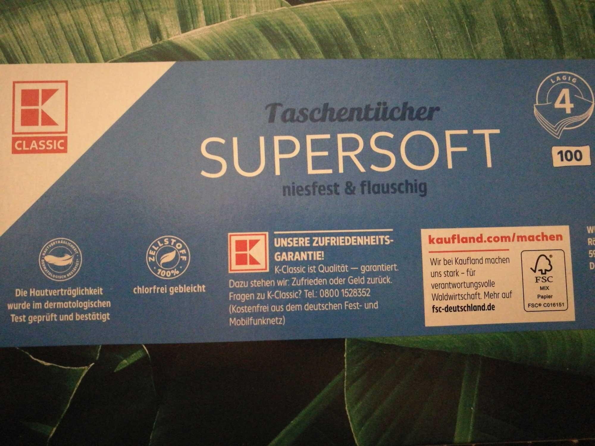 Supersoft Taschentücher - Product - de