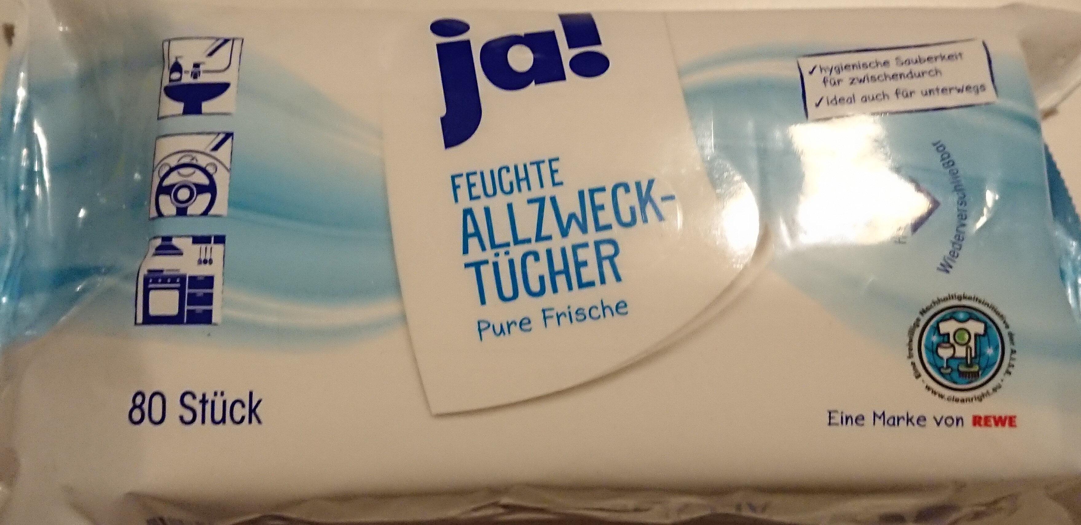 Feuchte Allzwecktücher Pure Frische - Product - de