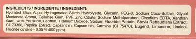 Extreme White - Ingredients - fr