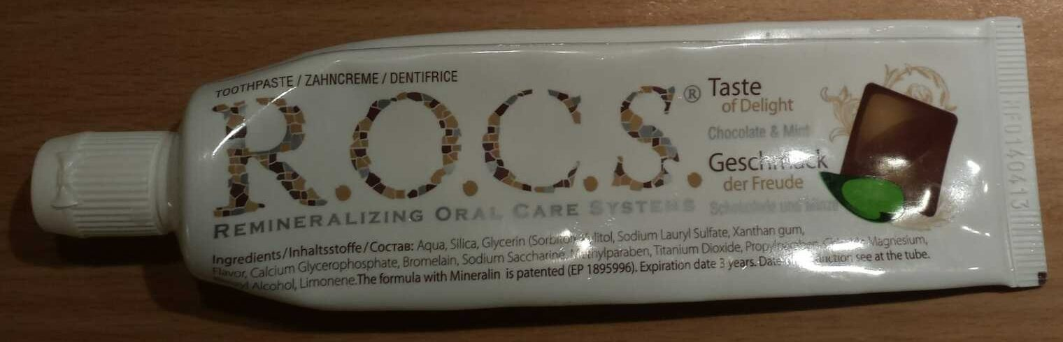 R.O.C.S. Chocolate & Mint - Product - fr