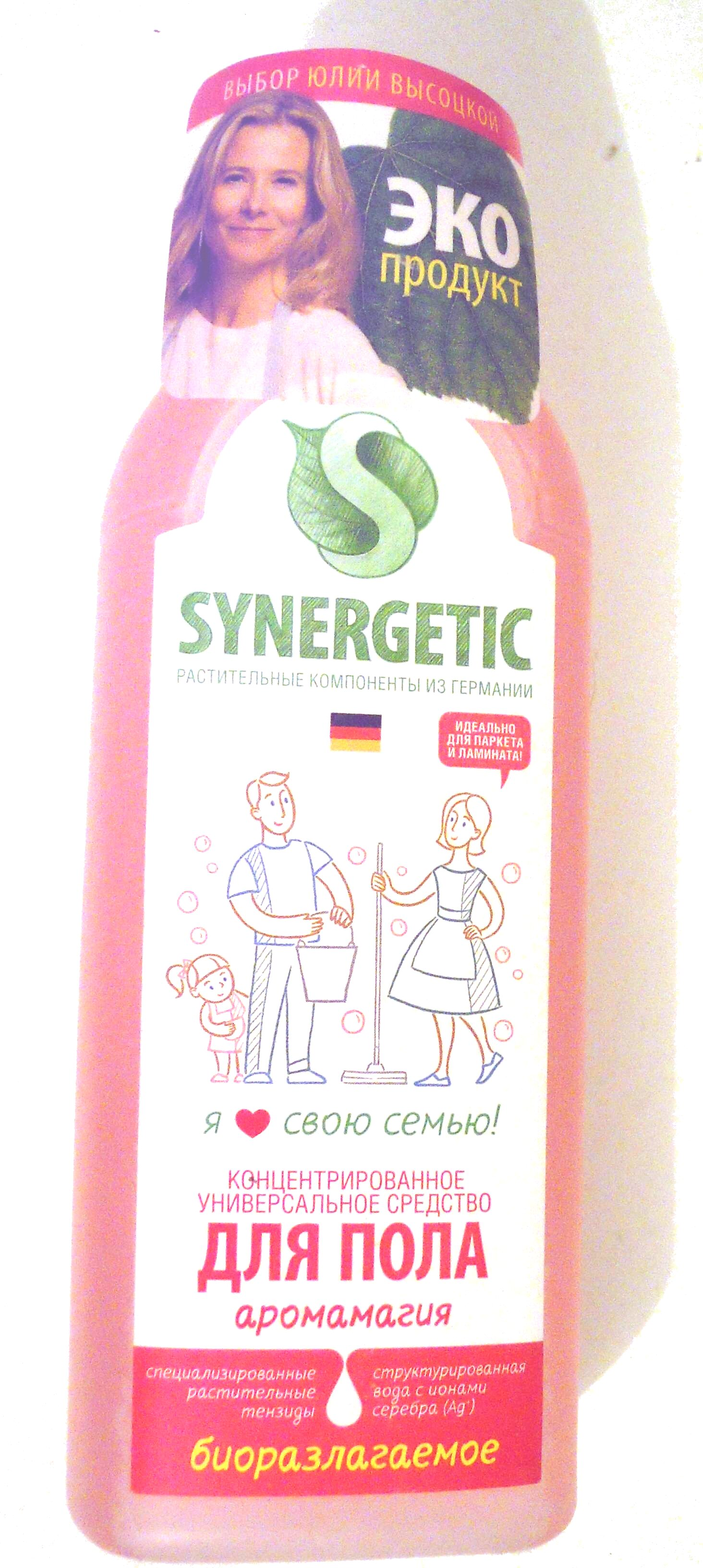 Концентрированное универсальное средство для пола аромамагия - Product - ru