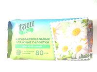Антибактериальные влажные салфетки для всей семьи с экстрактом ромашки - Product - ru