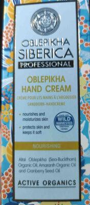 Oblekpikha Hand Cream - Product - en