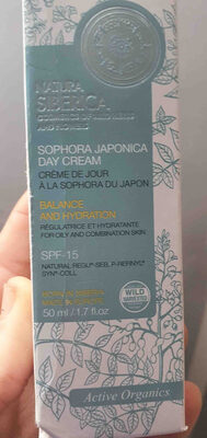 sophora japonica day cream - Product