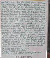 sophora japonica day cream - Ingredients - en