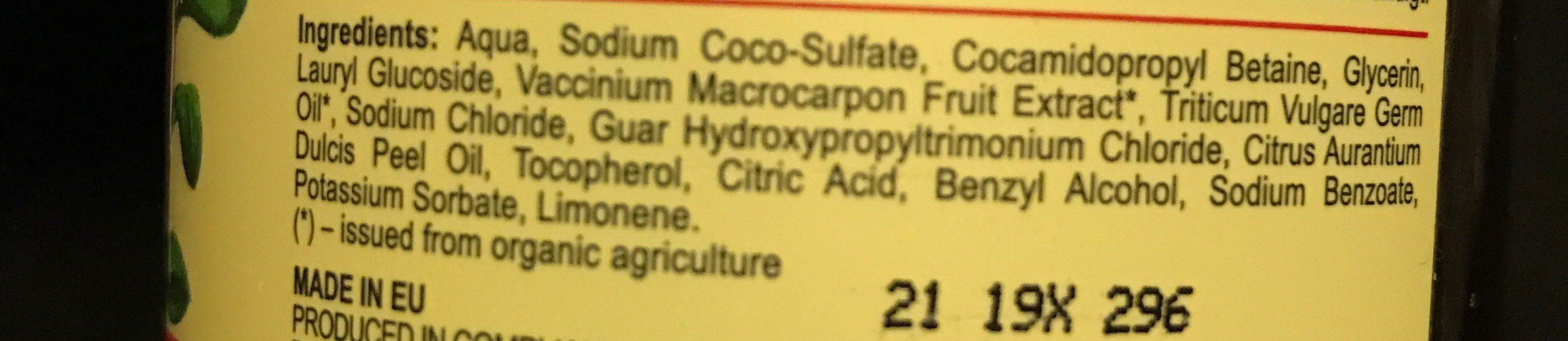 Volumen Shampoo - Ingredients - fr