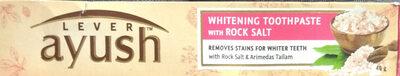 Whitening Toothpaste with rock salt - Produit - en