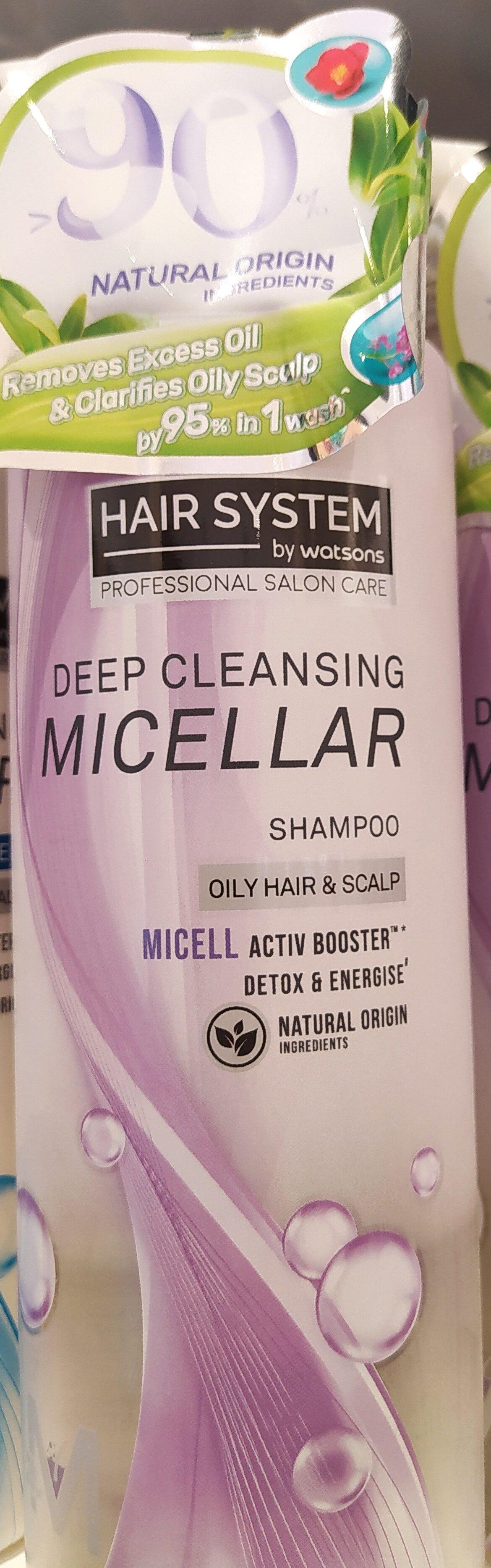 Micellar Botanical Deep Cleansing Shampoo - Produit - en