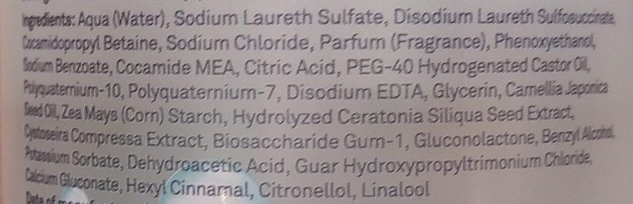 Micellar Botanical Nourishing Shampoo - Ingredients - en