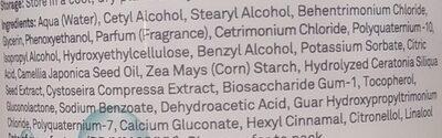 Micellar Botanical Nourishing Conditioner - Ingredients - en