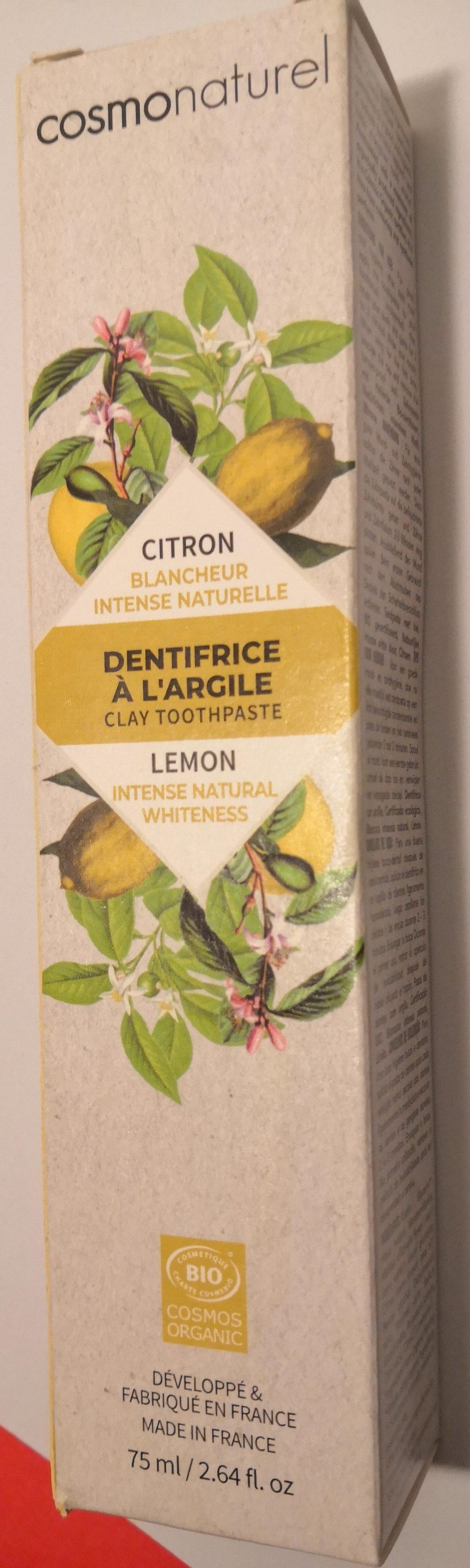 dentifrice à l\'argile - citron - Product - fr