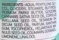 Crème Visage Peau mixte à grasse Hi Gorgeous Kazidomi - Ingredients - fr