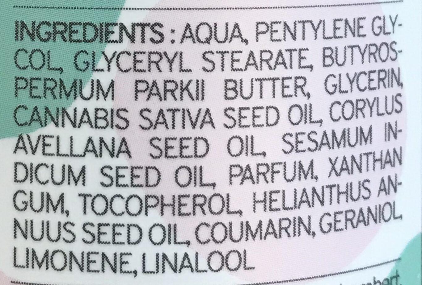 Crème Visage Peau mixte à grasse Hi Gorgeous Kazidomi - Ingrédients - fr