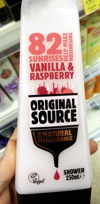 82 sunrises Vanilla & Raspberry - Product - en