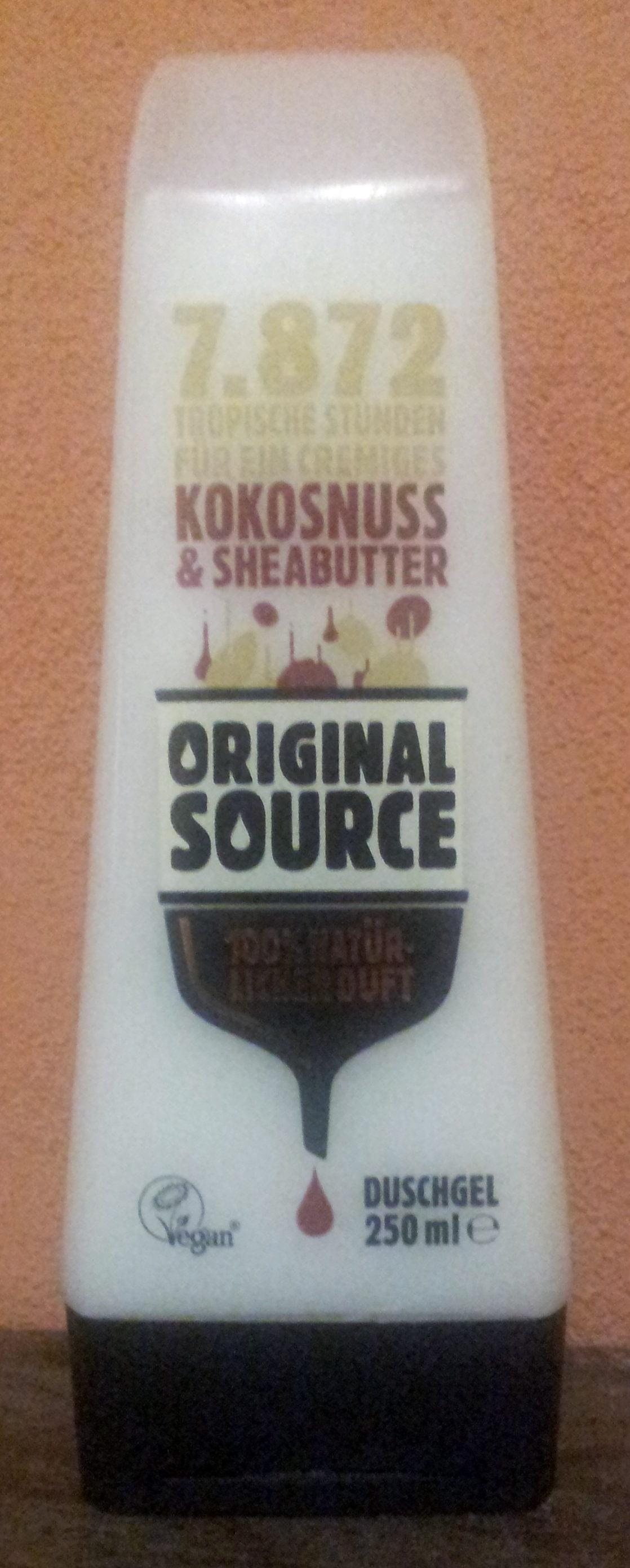 Original Source Kokosnuss & Sheabutter - Product - de