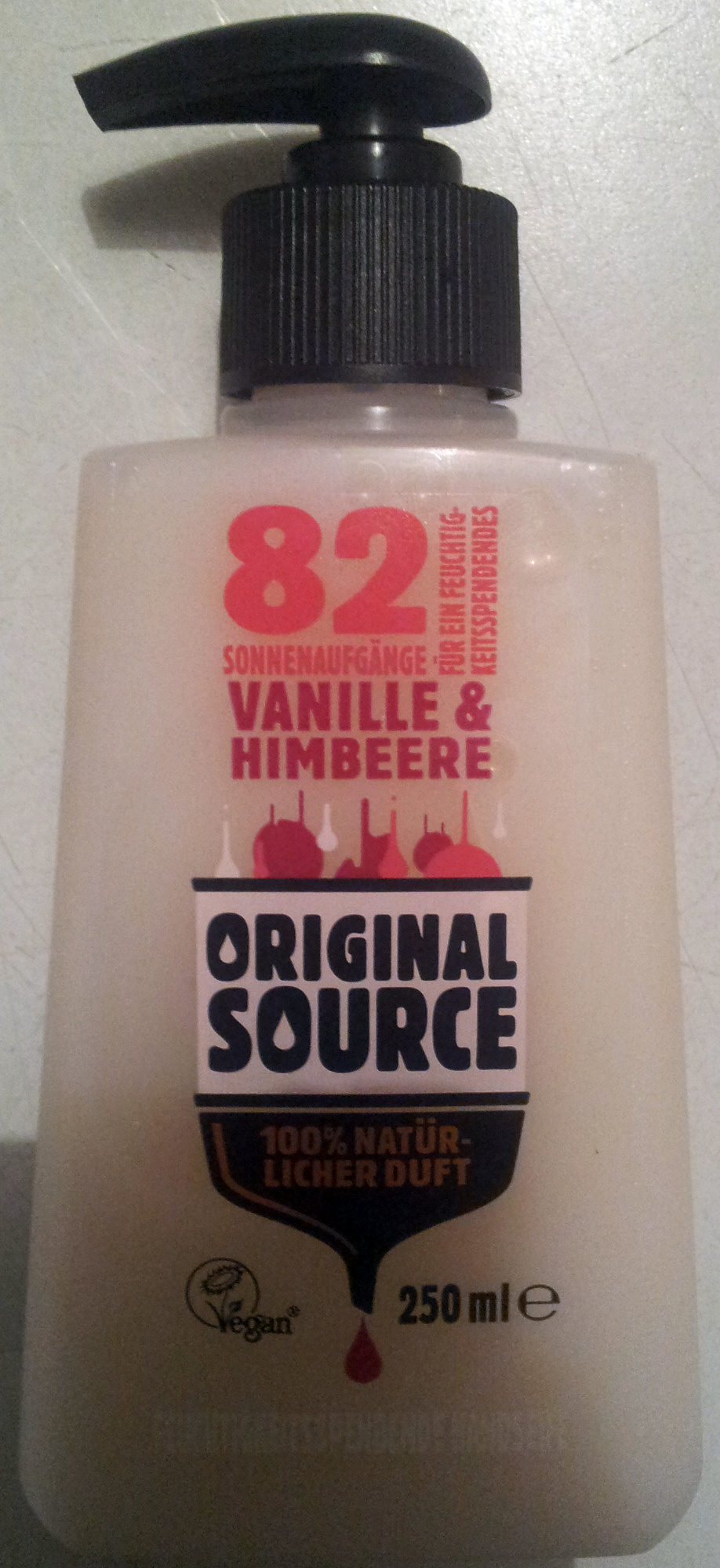 Original Source Vanille & Himbeere - Product