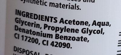 Beauty Nail Polish Remover - Ingrédients - en